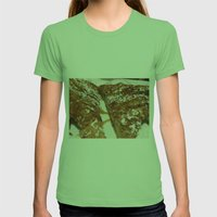 French Toast. Womens Fitted Tee Grass SMALL
