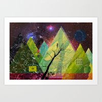 Wonder Wood Dream Forest… Art Print
