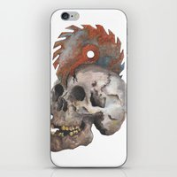 Inked Up Skull iPhone & iPod Skin