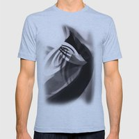 Paper Sculpture #1 Mens Fitted Tee Athletic Blue SMALL