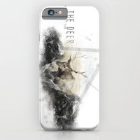 iPhone & iPod Case featuring The Deer II by Seeb Bremer