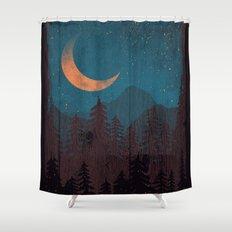 Those Summer Nights... Shower Curtain