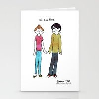 It's all fine Stationery Cards