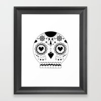 LOVE BOLDLY Framed Art Print