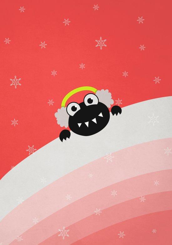 Cute Winter Bug With Earflaps Art Print