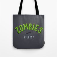 ZOMBIES, Run! Tote Bag