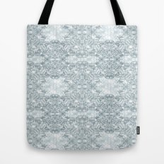Lace Geometric // Kaleidoscope of blues Tote Bag
