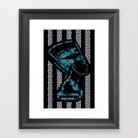 Nefertiti (version 2.0)  Framed Art Print