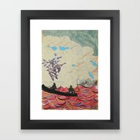 Channel Islands Framed Art Print