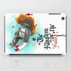 The rhythm of the falls iPad Case