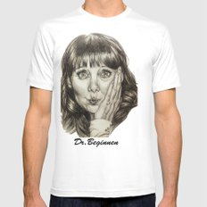 Asha Cuthbert    By Davy Wong Mens Fitted Tee SMALL White