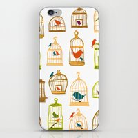 Bird Cages iPhone & iPod Skin