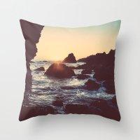 The Sun & The Sea Throw Pillow