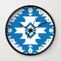 NavNa Blue Wall Clock
