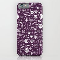 Day Of The Dead - Purple iPhone 6 Slim Case