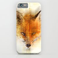 iPhone & iPod Case featuring Fox by MUSENYO
