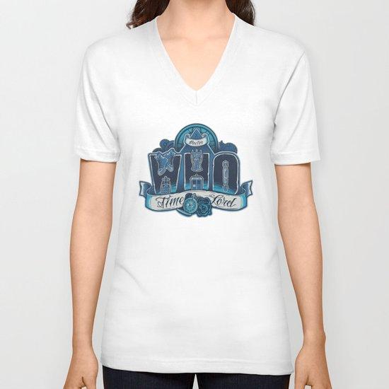 Infinite Who V-neck T-shirt
