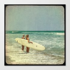 Girls of summer ttv Canvas Print