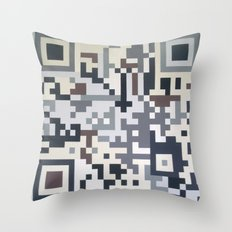 Number Five Multicolour  Throw Pillow