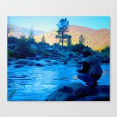 River blues Canvas Print