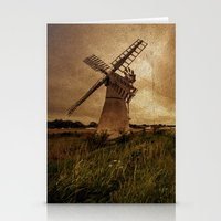 Thurne Wind Pump Stationery Cards