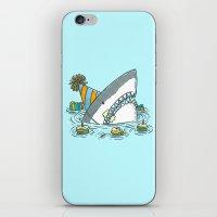 Birthday Shark II iPhone & iPod Skin