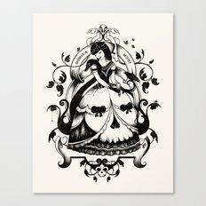 Mrs. Death II Canvas Print