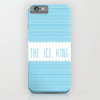 iPhone & iPod Case featuring the ice king pattern...mathamatical! by christopher-james robert warrington