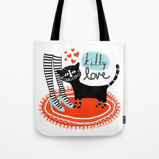 Kitty Love Tote Bag
