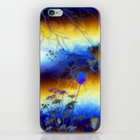 ABSTRACT - My blue heaven iPhone & iPod Skin