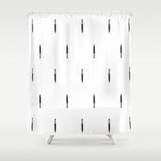 Rambo's Knife Shower Curtain