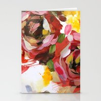 flower arrangement 4 Stationery Cards