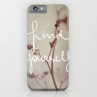 Find Yourself iPhone 6 Slim Case