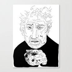 Michael Ondaatje Canvas Print