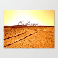 on the way Canvas Print