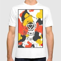Koi Mens Fitted Tee White SMALL