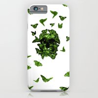 iPhone & iPod Case featuring butterfly skull by Gabriele Omar Lakhal