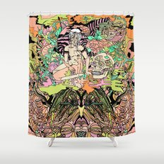 Luminous for a Moment Shower Curtain