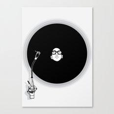 music now Canvas Print