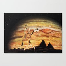 The Wild West Guide To The Galaxy Presents: The Unknown Rider Brave New World Canvas Print