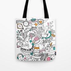 My Happy Doodle Tote Bag