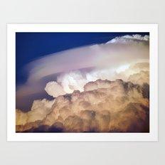 Dark Clouds 2 Art Print