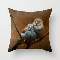 Male And Female Cordon B… Throw Pillow