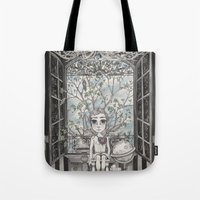 The Boy With An Apple Wh… Tote Bag