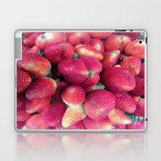 Strawberries in Paloquemao - Fresas en Paloquemao Laptop & iPad Skin
