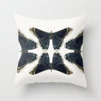 Callosamia Promethea Throw Pillow