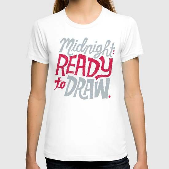 Midnight: Ready to Draw T-shirt