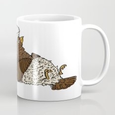 Thirsty Grouse - Colored with White Background Mug