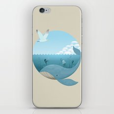 Whale & Seagull (US and THEM) iPhone & iPod Skin