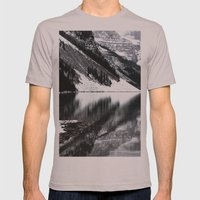 Water Reflections II Mens Fitted Tee Cinder SMALL